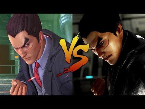 KOF AS Vs Tekken 7 - Kazuya Mishima Comparison