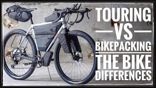 What Is The ACTUAL Difference? Touring VS Bikepacking Bikes