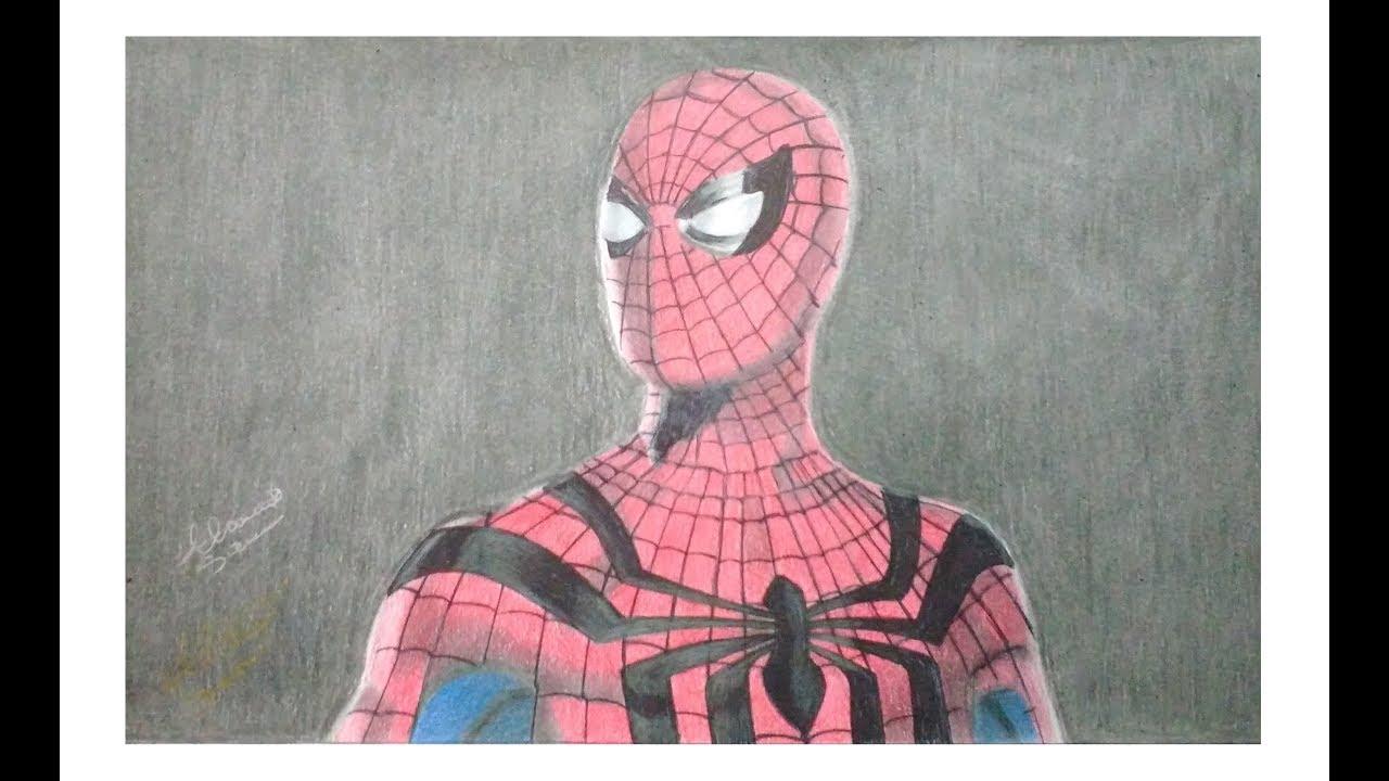 Spider Man Realistic Draw Homem Aranha Desenho Realista