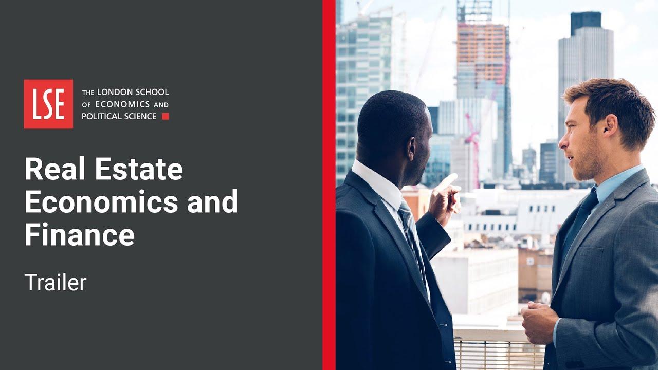 LSE Real Estate Economics and Finance   Course Trailer