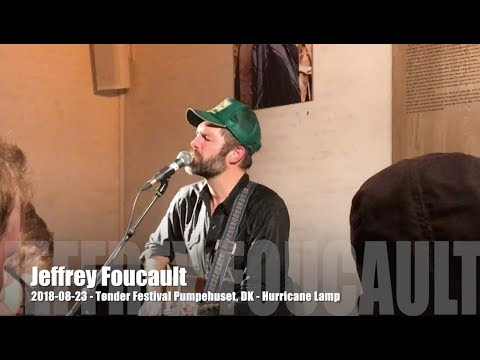 Jeffrey Foucault - Hurricane Lamp - 2018-08-23 - Tønder Festival, DK