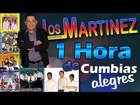 Los Hermanos Martinez de El Salvador - 1 Hora de Cumbias Alegres