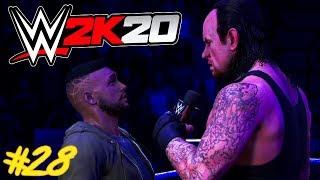 WWE 2K20 : Auf Rille zum Titel #28 - KÄFIGKAMPF VS UNDERTAKER !! 😱🔥