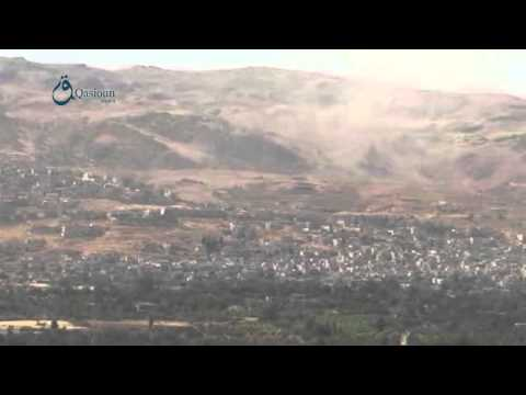 Qasioun news:Rif Dimashq: the situation in Al-zabdani city 4-7-2015