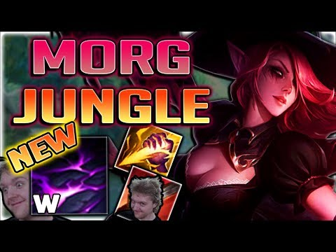 BUFFED MORGANA IS A GOD TIER JUNGLER NOW!! NEW JUNGLE MORGANA GAMEPLAY SEASON 8 - League of Legends