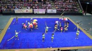 2015年香港普及體操節~嘉諾撒聖家學校