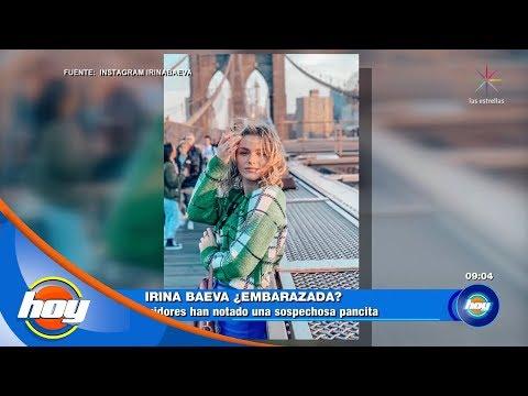 ¡Irina Baeva levanta sospechas de supuesto embarazo! | Hoy