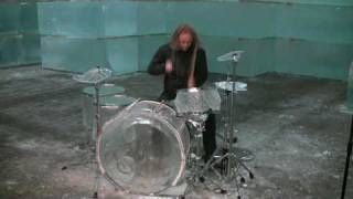 Hellacopters drummer trashes ice drum set - Part 1/2 thumbnail