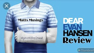 Dear Evan Hansen Broadway Musical Review At Playhouse Square In Cleveland Ohio