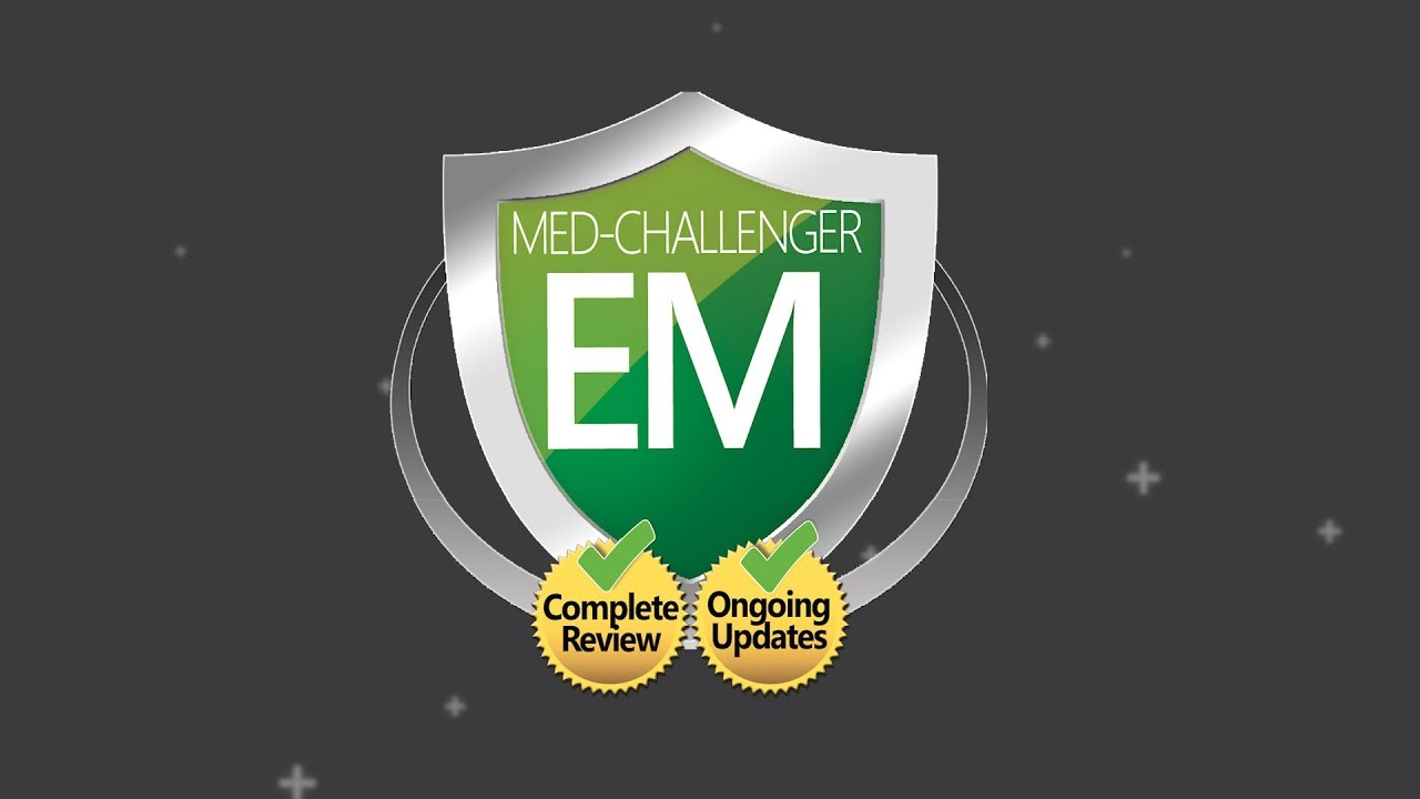 Med-Challenger #1 Online ABEM Emergency Medicine Qualifying Exam Review  Course