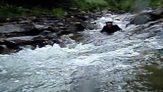 キャニオニング水上:防水カメラで追っかけてました~