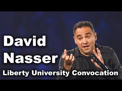 David Nasser - Liberty University Convocation