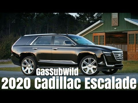 3 14 18 ‥ All New 2020 Cadillac Escalade photo were leaked online (新型 2020 キャデラック エスカレード 画像流出)