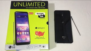 LG Stylo 5 Unboxing & First Look (Straight Talk)