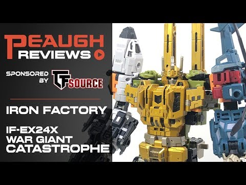 Transformers IronFactory IF EX-24X Catastrophe in Stock