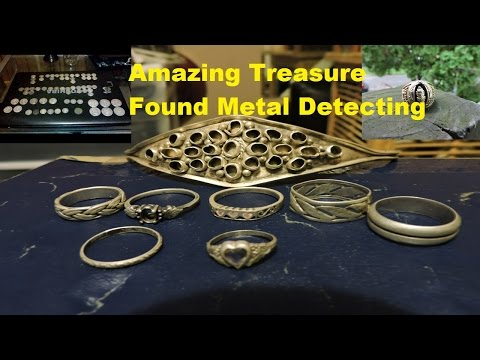 Metal Detecting 2016 Best Finds Gold Silver Rare Coins Relics