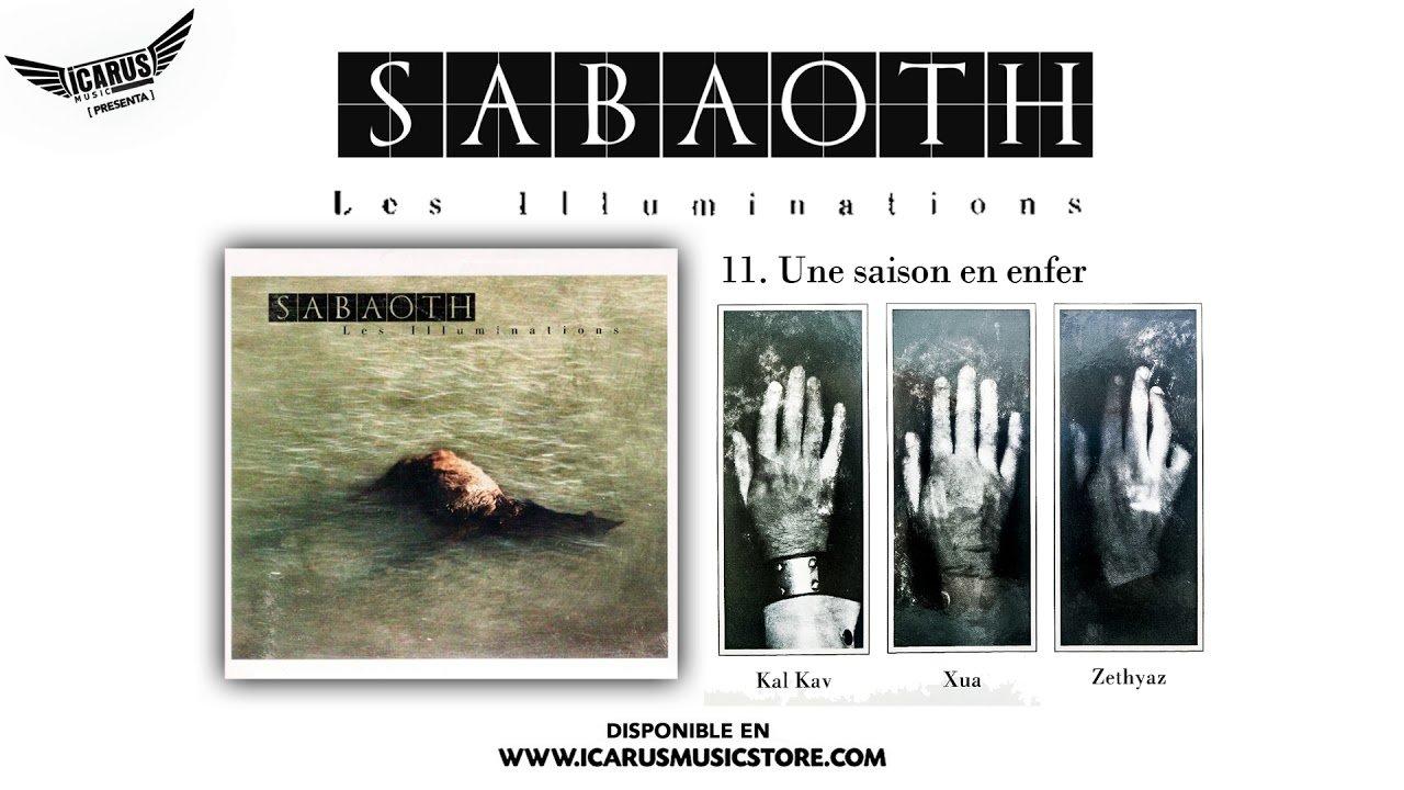 Sabaoth Une Saison En Enfer Del Disco Les Illuminations Oficial 2008