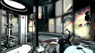 Portal 2- Xbox 360 gameplay