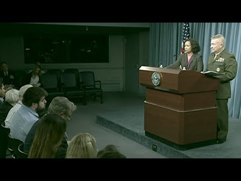 Pentagon:National Guard Will Support Border Patrol - Full News Conference