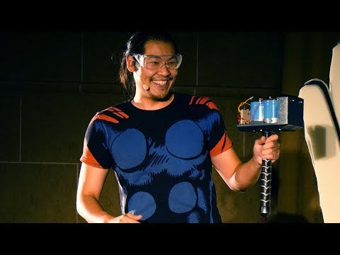 Tested Live Show 2017: Allen Pan Deconstructs Thor's Hammer!
