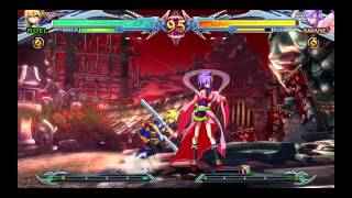 Noel Vermillion Arcade English Dub (Part 1/4) BlazBlue Chrono Phantasma EXTEND
