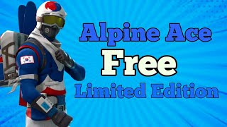 How to get Alpine Ace skin for Free in Fortnite