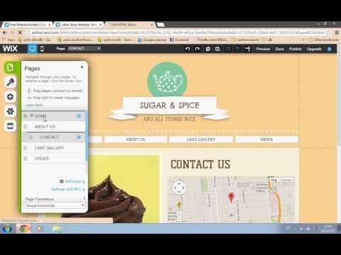 วิธีการสร้างเว็บไซต์โดย wix.com