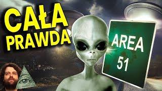 Strefa 51 - Sekrety i Tajemnice Tajnej Bazy CIA - Plociuch Spiskowe Teorie Kontakty z UFO OBCY PL