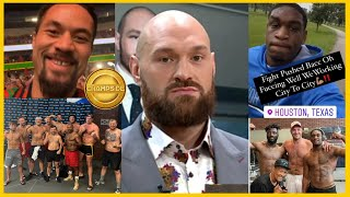 SOURCES SAY TYSON FURY SPARRING PARTNERS DONT HAVE CVD19! FURY TO RETURN TO ENGLAND DUCKING WILDER