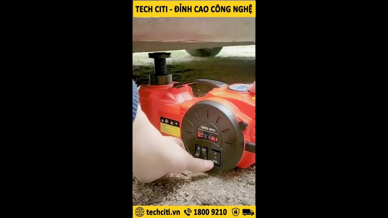 Autool 12V 6Ton Portable Electric Jack & Impact Wrench ...