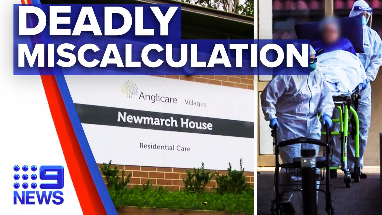 Coronavirus: 17 deaths in total at Newmarch House | 9 News Australia
