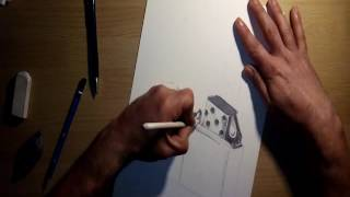 dibujando un encendedor-como dibujar un encendedor/drawing a lighter-how to draw a lighter