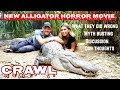 """Alligator handlers discuss everything they got wrong in the new horror movie """"Crawl"""""""