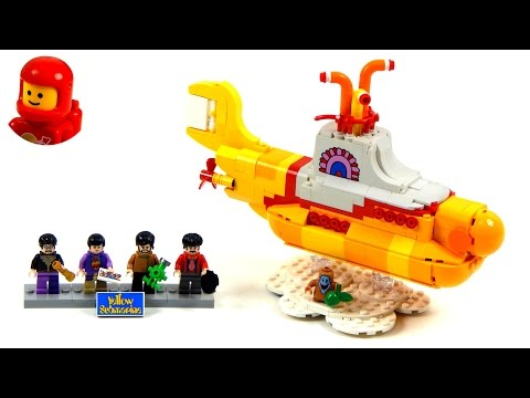 Lego Ideas 21306 Yellow Submarine Lego Speed Build