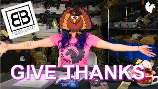 Give Thanks...for tactical gear!
