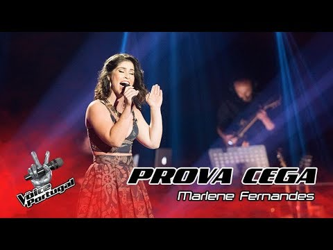 Marlene Fernandes  When a Man Loves a Woman  Prova Cega  The Voice Portugal
