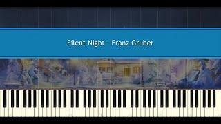 Silent night (Simplified version) - Franz Gruber (Piano Tutorial)