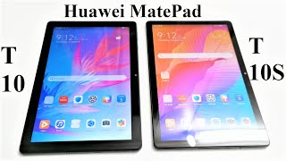 Huawei MatePad T 10 vs MatePad T 10S - What's the Difference?