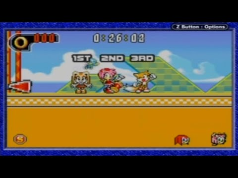 Sonic Advance 2 - Multiplayer with Pelt, Rasik, MegamanSonicX, and shrooby!