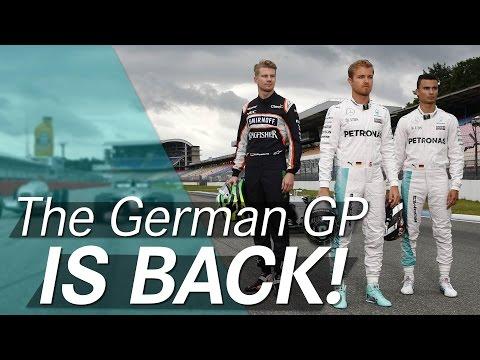 F1 returns to Germany!