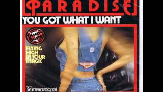 (MUST LISTEN) You Got What I want. Paradise. SUPERB  (It