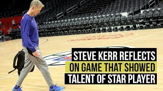Steve Kerr reflects on Draymond Green's coming out party against Clippers in 2014