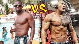 Kevin Hart vs Dwayne Johnson Transformation 2018