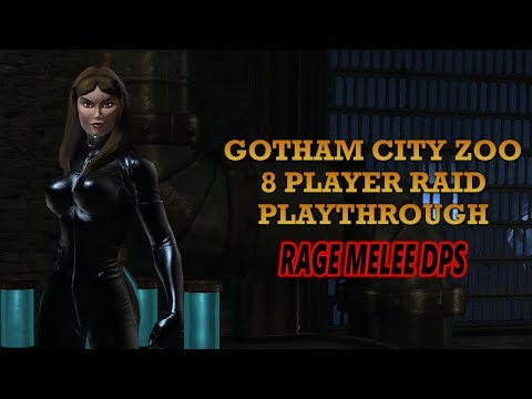 DCUO Ep29: Gotham Zoo Raid Playthrough (09-20-17)