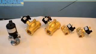 Видео обзор - Электромагнитные клапаны, клапан электромагнитный, соленоидный клапан(Видео обзор от производителя UKSPAR. Купить электромагнитный клапан, электромагнитные клапаны по ссылке http://uk..., 2016-08-05T14:57:08.000Z)