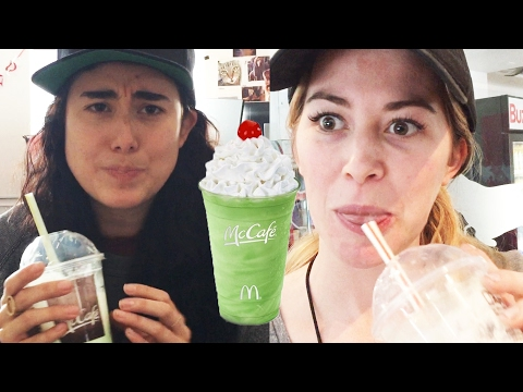 People Try The Shamrock Shake For The First Time