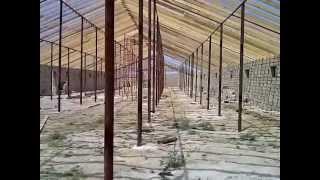 видео Строительство фермы КРС: проект, схема.