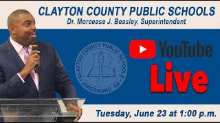 Superintendent/CEO YouTube Live Presentation - June 23, 2020