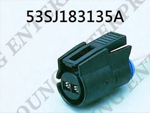 gm ac compressor high pressure switch two lead wiring pigtail youtube rh youtube com gm a/c compressor wiring diagram GM A C Compressor Adapter