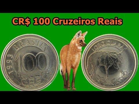 Quanto Vale 100 Cruzeiros Reais 1993 E 1994 Youtube